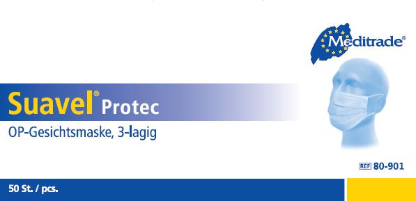 Suavel Protec von Meditrade, blau