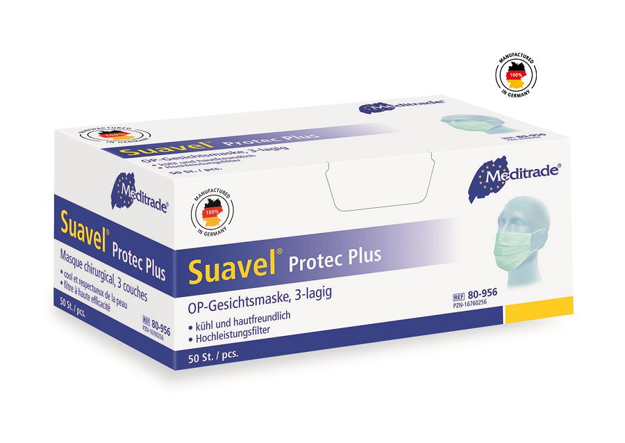 Suavel Protec Plus 80-956, grün, 100% Made in Germany